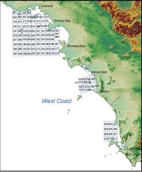 West Coast Prawn Fishery